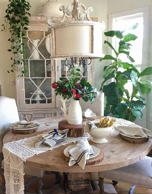 36 Delicate Dining Table Decor You Must See table decor, dining table, table decoration, kitchen table ideas, dining table decorations